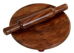Carved Wooden Chakla Belan Handicraft Wooden Furniture