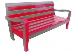 Solid Wood Bench For Park and Out door
