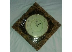 Carved Wooden Antique Handmade wall Clock