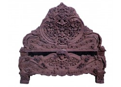 Carved Wooden king size Double Bed Carved wooden Double Bed with price King Size