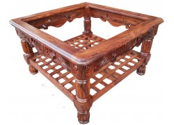 Carved Wooden Antique Furniture Center Table  Carved Wooden Sofa Set